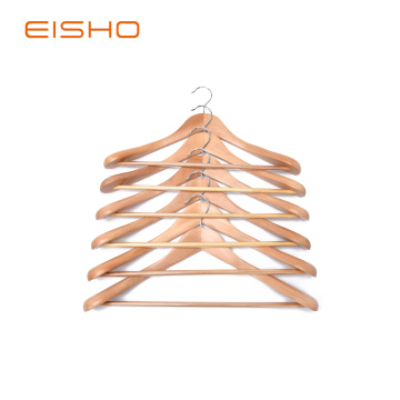 EISHO Quality Luxury Curved Suit Hangers