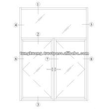ALUMINIUM POP WINDOWS TK38