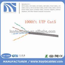 Beige 1000FT Cat5e UTP cable