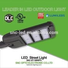 180w conduziu a luz de rua com fotocélula, lâmpada de rua conduzida conduzida exterior, ul luz de rua de 180 watts conduzida