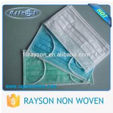 Top Qualität Nonwoven Facemask für medizinische Verbrauchsmaterialien