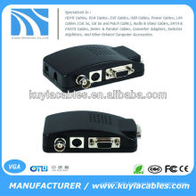 CCTV Kamera BNC S-Video VGA PC zu VGA Konverter Adapter