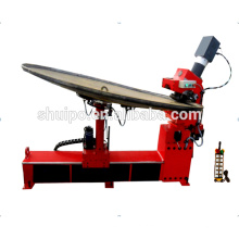 No template irregular dished head edge tank head/head flanging machine