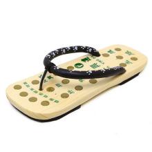 Holz japan Fuß Pantoffel Akupunkt-Massagegerät