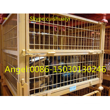 Stackable and Foldable Heavy Duty Wire Mesh Container/Wire Mesh Basket
