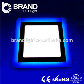 High Lumens 6w+3w Round And Square Double Color LED Panel Light