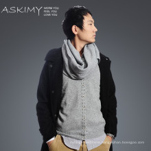 Hot sale New Style fashion men striped knitting scarf