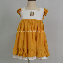 boutique clothing High Quality Chiffon Flower Girl Dress