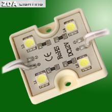 Luz do módulo do diodo emissor de luz do quadrado SMD5050 4LEDs