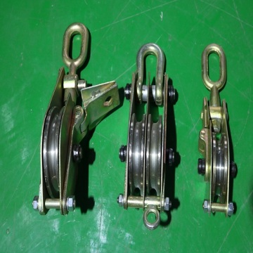 Pulley Blocks Single Double and Triple Type Available