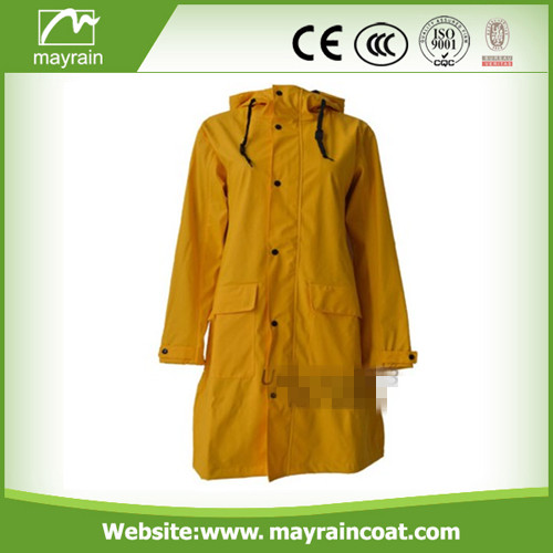PU Raincoat for Adult