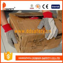 Gardening Gloves White Polka DOT Glove Dcd201