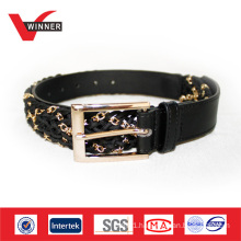 2014 Fashion accessories women metalic chain belts