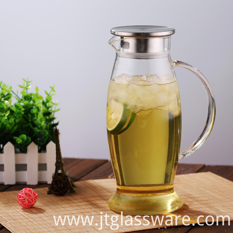 Glass carafe for Juice & Iced Tea