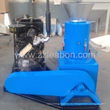 22HP motor diesel conducido pellet que hace la máquina para el uso casero