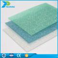 Placa de policarbonato transparente de resistencia a la corrosión