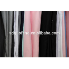 cotton 97% cotton 3% elastane twill solid dyeing fabric price wholesale shandong mill
