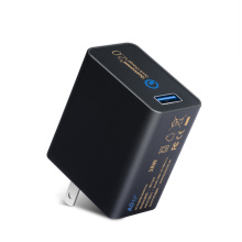 Cargador USB con adaptador de cargador rápido USB de pared Qualcomm 2.0