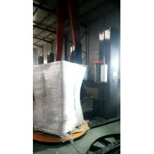 Turntable Automatic Stretch film pallet wrapping machine