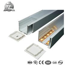 Perfil de extrusão de alumínio impermeável para led