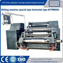 BOPP PE Film Roll Slitting Machine