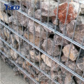 4x1x1 gabion box 50mm hole size welded mesh competitive gabion box for retaining wall