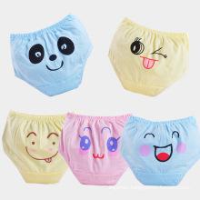 Wholesale comfortable breathable antibacterial cotton kid's pants underwear