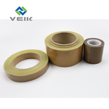 High Temperature 0.08mm 3mil PTFE Fiberglass Adhesive Tape