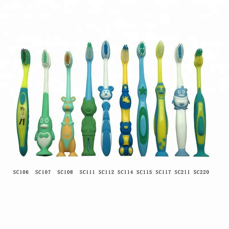 Cheap Chidren Cartoon Soft Toothbrush