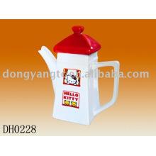 Factory direct wholesale 17OZ ceramic teapot