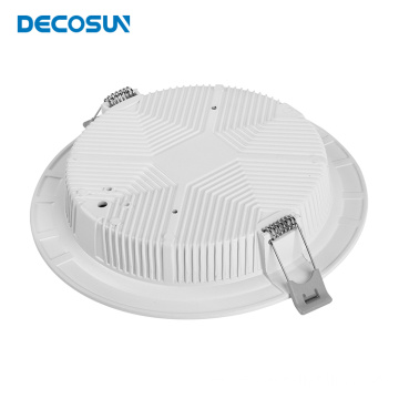 Frosted Cover 12w SMD Ra80 Foco empotrable LED