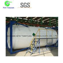 800m3 / H Газоснабжение Сжиженный природный газ Средний резервуар для контейнеров