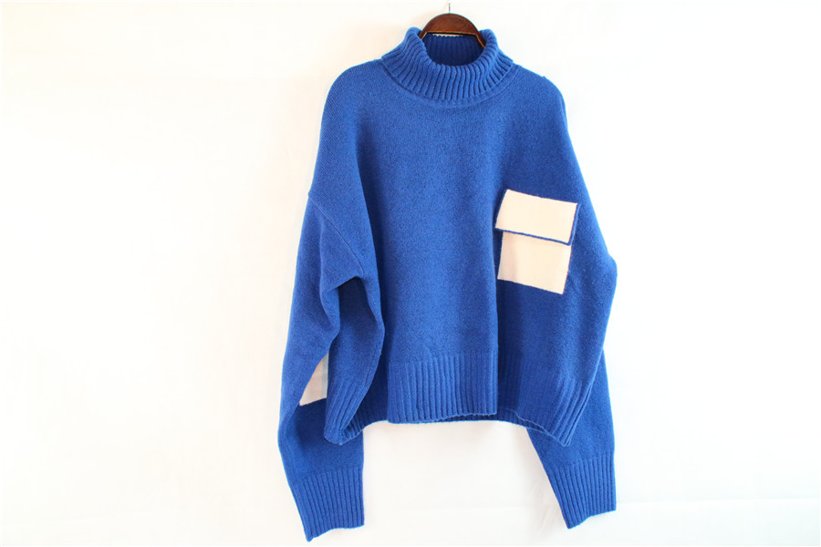 Batwing Knit Sweater