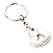 Metal Zinc Alloy Customized Promotion Heart Shape Key Chain (F1389)