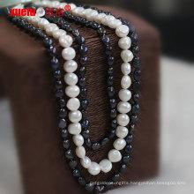 Fashion Jewelry Unique Fresh Water Pearl Necklace Design