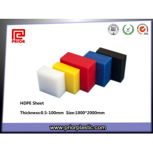 Engineering Plastic Polypropylene Color HDPE Sheets