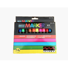 12 Farben Mini-Permanent Marker-Set