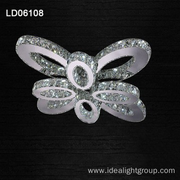 flower crystal chandelier led customized chandelier lamp