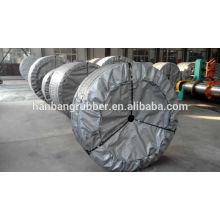 producción profesional sólido tejido PVG PVC cinta transportadora