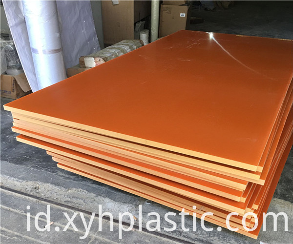 Orange Insulating Bakelite