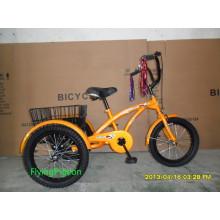 Triciclos de bicicleta de três rodas