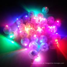decoração de festa rodada levou balões luz