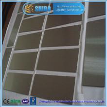 Завод прямых продаж высокой чистоты 99.95% молибдена пластины с высоким качеством