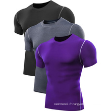 OEM Hommes Fitness T Shirts Gym Wear T-Shirts 2017