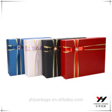 Kundenspezifisches neues Design Karton Geschenkbox Tasche Logo