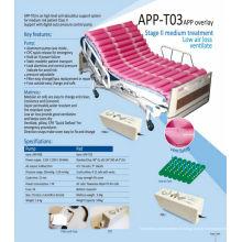 Matelas à air médical gonflable à pression alternative avec pompe APP-T03