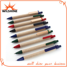 Paper Eco-Friendly Pen with Wooden Clip for Promotion (EP0440B)