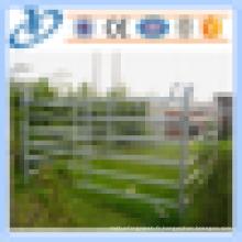 Panneaux de clôtures métalliques à haute qualité et bon marché