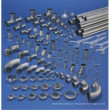 China fabricação dn50 acessórios de tubos de aço inoxidável pn25