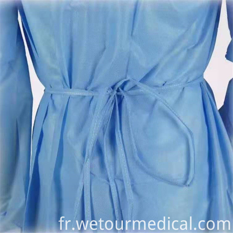 Disposable Medical Isolation Gown Protective Clothing 2